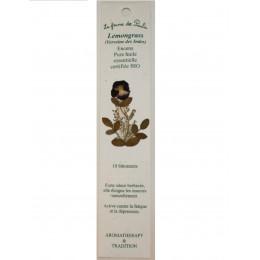 Encens pure huile essentielle certifiée Bio Lemongrass