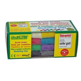Pâte à modeler - 8 couleurs - à partir de 3 ans