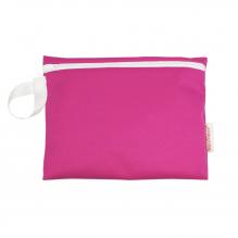 Pochette imperméable en coton BIO pour serviettes hygièniques - Framboise
