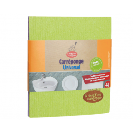 Carréponge Universel Lot de 4