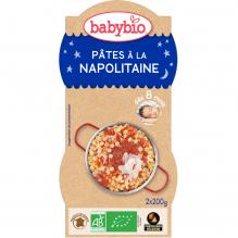 Pâtes à la Napolitaine au parmesan (dès 8 mois) 2 x 200 g