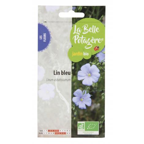 Lin bleu - Linum usitatissiumum - 10g