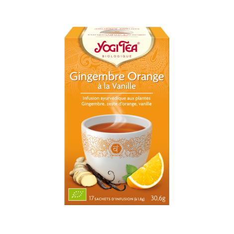 Infusion Gingembre Orange 17 sachets
