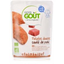 Patates douces sauté de porc 190g dès 6 mois