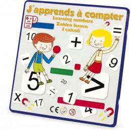 Magnets chiffres - J'apprends à compter - à partir de 6 ans