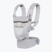 Porte-bébé ADAPT 3 positions - Cool air mesh - Pearl grey