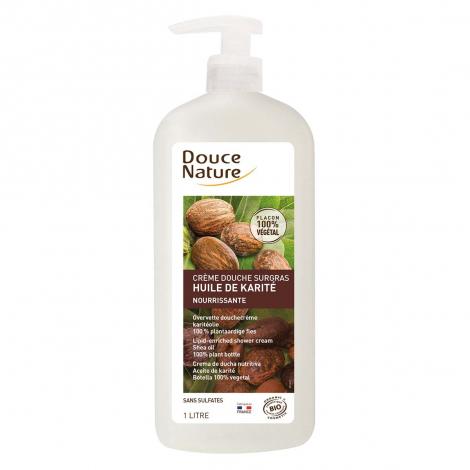 Crème douche surgras nourrissante - Huile de Karité - 1 l