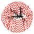 Sac de rangement et tapis de jeu (2 en 1) Play&Go - Zigzag rouge