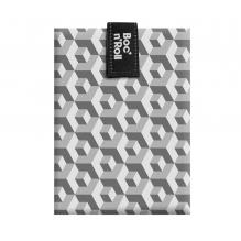 Pochette sandwich lavable et réutilisable Boc'n'Roll - Tiles Black