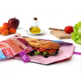 Pochette sandwich lavable et réutilisable Boc'n'Roll - Young Travel