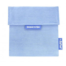 Pochette casse-croûtes lavable et réutilisable Snack'n'Go - Eco Blue
