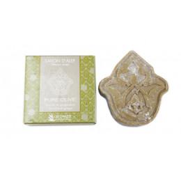 Savon d'Alep Pure Olive - Laurier et gingembre - 100 g