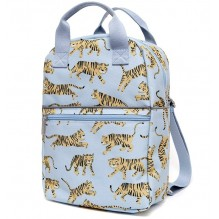 sac-à-dos gris tigres large