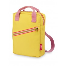 Sac-à-dos small 'Zipper Yellow'