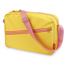 Sac bandoulière 'Zipper Yellow'