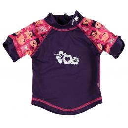 T-Shirt anti-UV - Monstre Rose Edie
