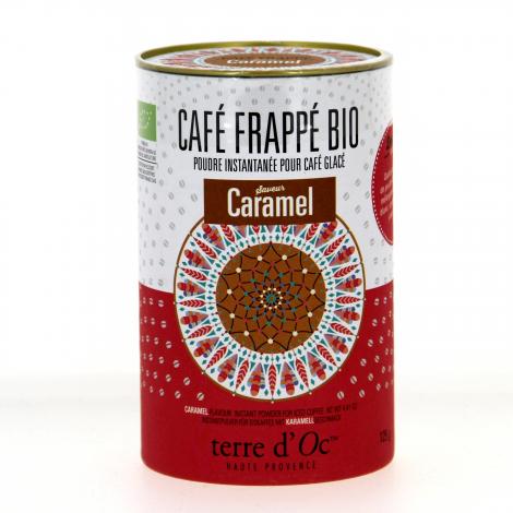Café frappé Bio Caramel 125 g