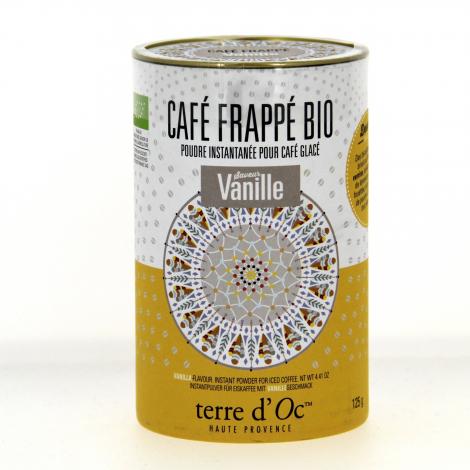 Café frappé Bio Vanille 125 g