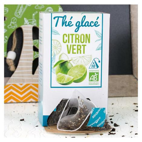 Thé glacé : Citron vert - 10 sachets