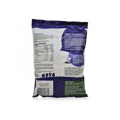 Mini-galettes de riz à la myrtille - 40g - à partir de 10 mois