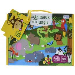 Puzzle géant Les animaux de la jungle 30 pièces - à partir de 3 ans