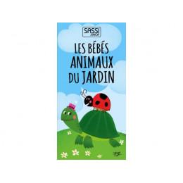 Cubes empilables Les bébés animaux du jardin - à partir de 2 ans