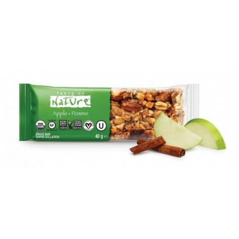 Barre aux noix et fruits secs - Pomme - 1 x 40 g