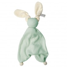 Doudou Floppy éponge - Fresh mint/off white