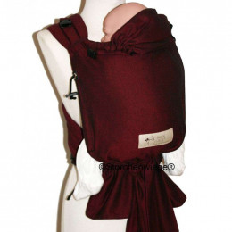 Porte bébé Baby Carrier Bordeaux