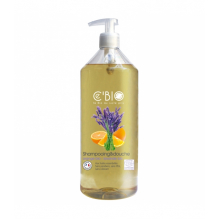 Shampooing Gel douche Bio -  Orange et lavande - 1 litre
