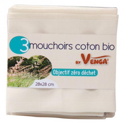best quality cost charm to buy Mouchoir en coton BIO - lot de 3