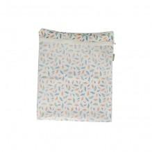 Double sac à couche - filet + imperméable Plumes