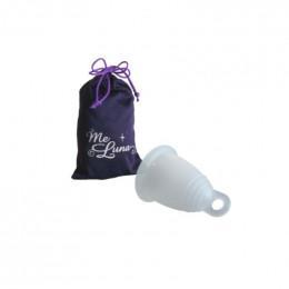 Coupe menstruelle classique - Anneau - transparent
