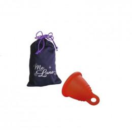 Coupe menstruelle classique SHORTY - Anneau -  rouge