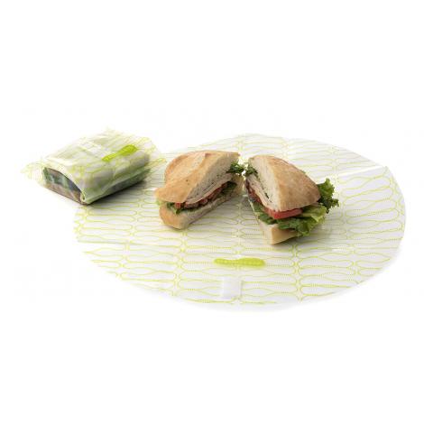 Emballages alimentaires réutilisables Kozy Wrap Pomme ( 2 pièces )