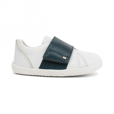 Chaussures Step up - Boston Trainer White + Ink - 729905