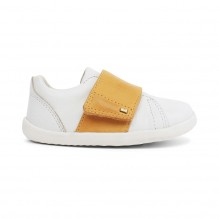Chaussures Step up - Boston Trainer White + Chartreuse - 729909