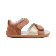 Sandales Step up - Sail Caramel + Gold - 728711
