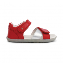 Sandales Step up - Sail Rio Red + Silver - 728710
