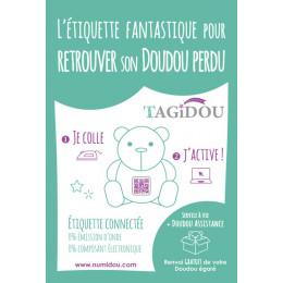 Tagidou - étiquette connectée - version française