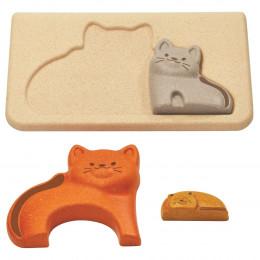 Puzzle famille chats - à partir de 18 mois