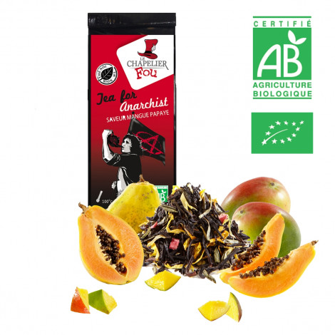 Tea for anarchist - Thé noir mangue papaye bio