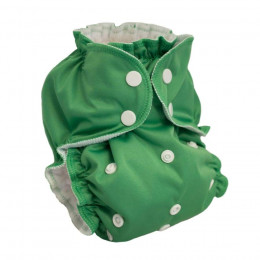 Couvre couche lavable - Vert - Happy Holladays