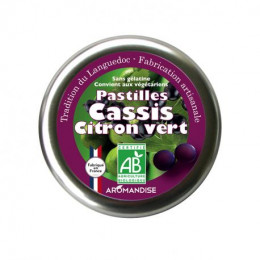 Pastilles Cassis Citron vert - 45 g