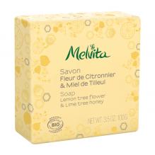 Savon BIO - Fleur de citronnier et Miel de tilleul - 100 g
