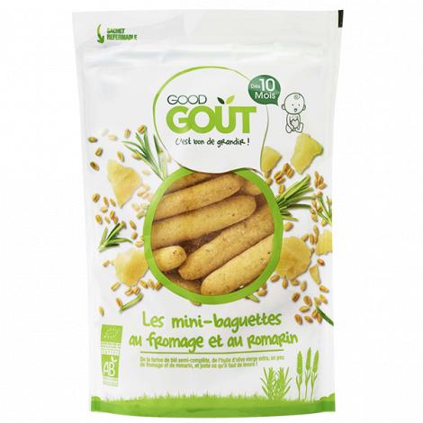 Les mini-baguettes - fromage et romarin - 70 g - Dès 10 mois