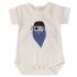 Body manches courtes en coton BIO - Barbe bleue