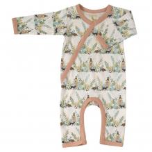Pyjama kimono en coton BIO - Forêt rose