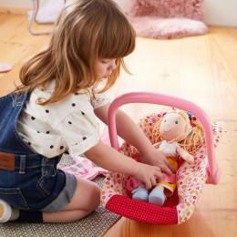 Chaise cozy pour poupée Pré fleuri - Lilly and friends - à partir de 18 mois