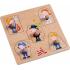 Puzzle en bois à encastrement - Métiers - à partir de 12 mois